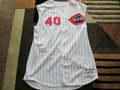2005 MLB Paul Wilson Cincinnati Reds  Game Worn Jersey