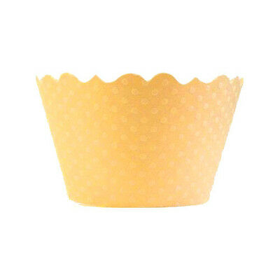 Bella Cupcake Couture Cupcake Wrappers - Swiss Dot - Cream