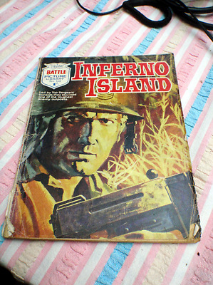 Battle Picture LIbrary Nr. 360 Inferno Island FREE POSTAGE