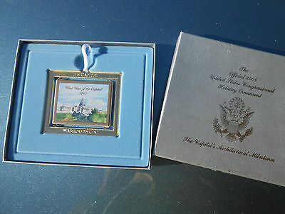 Us Congress 2005 Holiday Ornament--Free Shipping