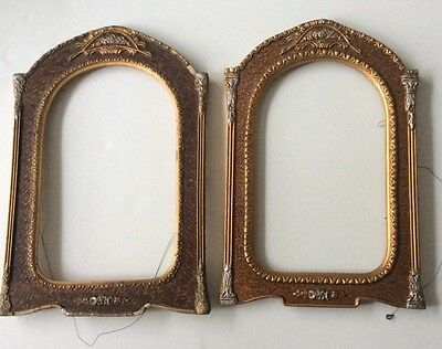 Pair Of Very Ornate Plaster And Timber Picture /photo Frames
