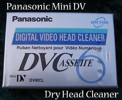 Panasonic Dvmcld Mini Dv Camcorder Head Cleaning Cassette/tape