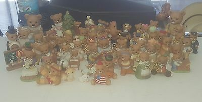 Home Interiors Bear Collection Homco Figurines 60 pieces