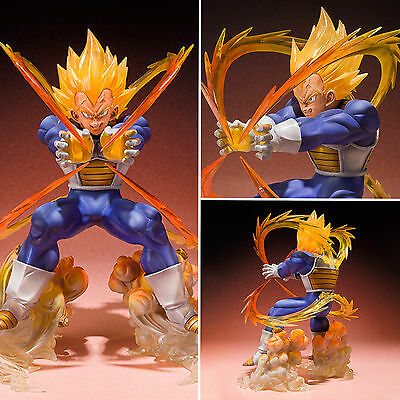 Anime Dragon Ball Z Super Saiyan Collection Vegeta Action Figure Toy With Box