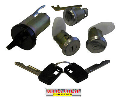 Ignition Barrel Door Boot Lock For Holden Commodore VB VC VH VK VL Set + 2 Keys