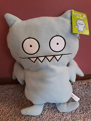 """Ugly Doll 13"""" Plush Ice-Bat Blue Monster Toy NWT"""