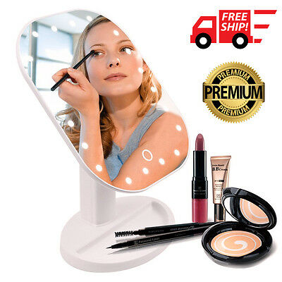 Original LED Touch Screen Makeup Mirror Tabletop Cosmetic Vanity light up Mirror