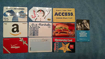 Expired Gift Cards + access cards for collectors  NO Value #2