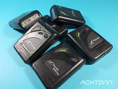 Lot x 6 Vintage Collector MOTOROLA  Communications Pagers From Telus Working
