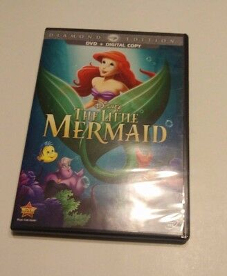 The Little Mermaid (DVD, 2013, Diamond Edition) OOP