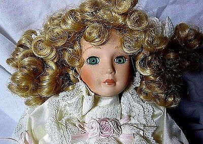 Vintage Collector's Choice Animated Musical Porcelain Doll Series By Dandee