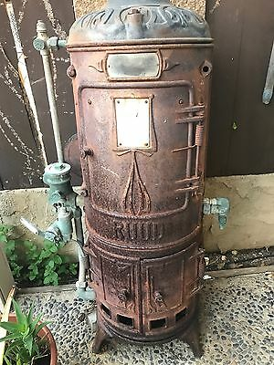 antique 1900 Ruud water heater all original great condition