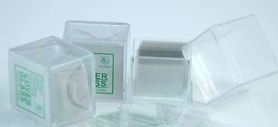 CN stock BestScope Microscope Slide Cover Slips 1Box of100/ 18*18mm Square Glass