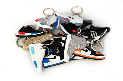 Jordan NMD Yeezy Bred Fire Red Air Mag Space Jam Shoe Keychain RANDOM PACKS