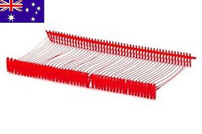 Barb Fastener Pins For Tag Guns- Red 35mm Pack Of 500 Barbs