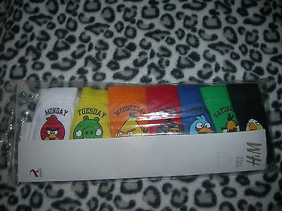 7 Briefs Angry Birds for 1,5-2 years H&M