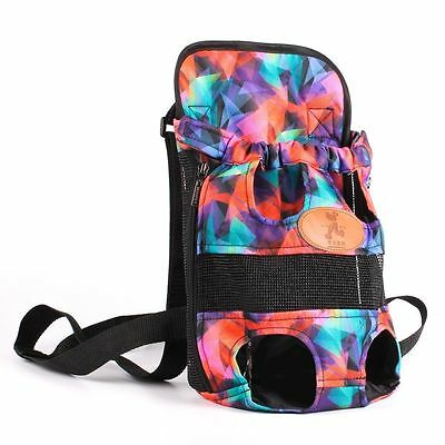 New Pet Backpack Portable Dog Front Carrier Breathable Travel Outdoor Bag