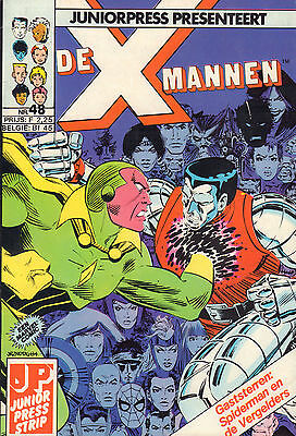 X-Mannen 48 (Junior Press Strip1986)