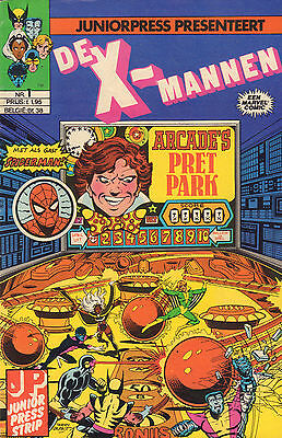 X-Mannen 01 - Arcade's Grote Moordspel (Junior Press Strip1982)