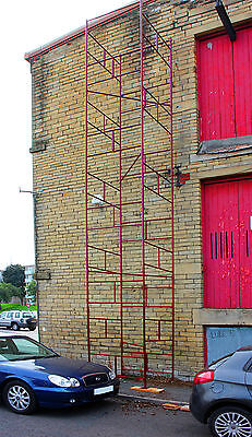 NEW D.I.Y Steel Scaffold Tower Scaffolding Tower 4x4x33'wh HD