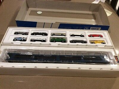 Model Trains  Roco Miniature Models1900 Car Transporter With 10 Cars