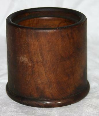 Vintage Small Wooden Pot