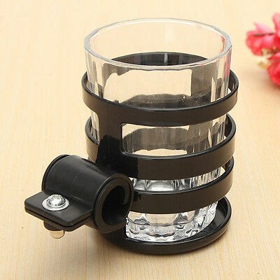 Adjustable Bicycle Cycle Bike Handlebar Cup Can Water Bottle Drink Holder Cage