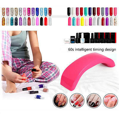 UV Nail LAMP Light 12W Dryer Curing Acrylic Gel Polish Mini Portable Pro USB