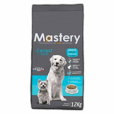 Mastery Dog Food Adult Duck, Dry Food for Increased from Dog - 12 Kg