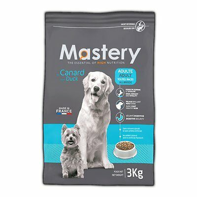 Mastery Dog Food Adult Duck, Dry Food for Increased from Dog - 3 kg