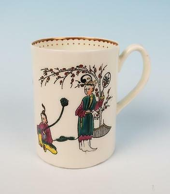 Royal Worcester Reproduction of Early Chinese Style Tankard Mug Cup Porcelain