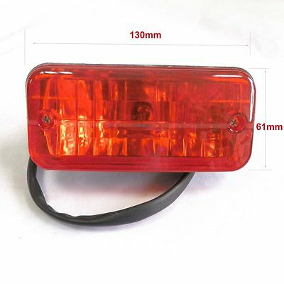 Chinese ATV NST SunL Quad Tail Light w/ Bulb Mini ATV 50cc 70cc 90cc 110