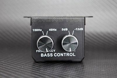 Car Home Amplifier Subwoofer Bass RCA Stereo Gain Line Level Volume Amp Booster
