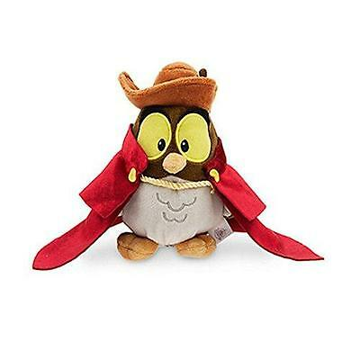 New Official Disney Sleeping Beauty Animator Collection 16cm Owl Soft Plush Toy