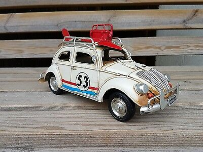 Volkswagen BEETLE CAR TIN PLATE MODEL Large Size