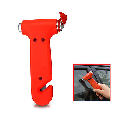 Car Hammer Glass Window Breaker Emergency Seat Belt Cutter