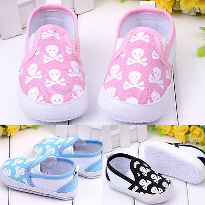 New Infant Toddler Boy Girl Soft Sole Shoes Anti-slip Sneaker Overshoes