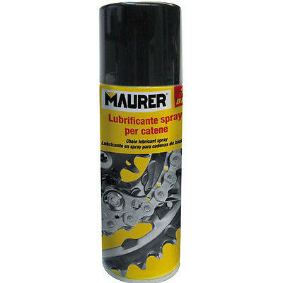 LUBRIFICANTE SPRAY PER CATENE DI BICI  MAURER 200ml