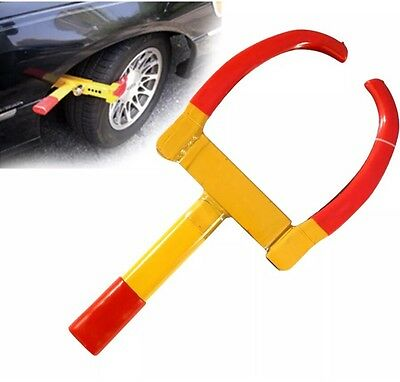 Car Van Vehicle Trailer Wheel Clamp Safe Security Lock Strong Anti Thieves New