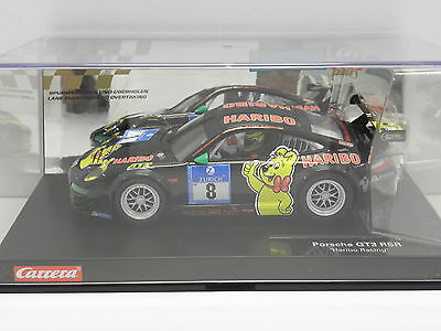 Carrera 23809 Digital 124 Slot Car Porsche GT3 RSR Haribo Racing No.8 M.1:24