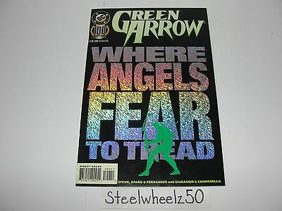 Green Arrow #100 DC Comics 1995 Death Of Oliver Queen Superman Appears Foil RARE