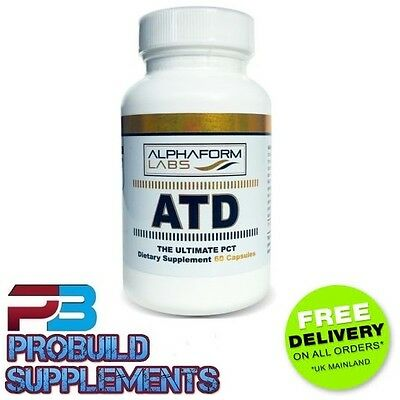 Alphaform Labs ATD - Ultimate PCT- Post Cycle Therapy - 60 Capsules - FREE P&P