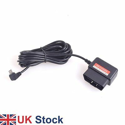 OBDII Charging Cable Micro USB Adapter 16Pin OBD2 Direct Link for Dash Cam DVR