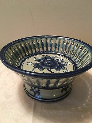 Fine Porcelain Small Fruit Bowl - REDUCED PRICE!