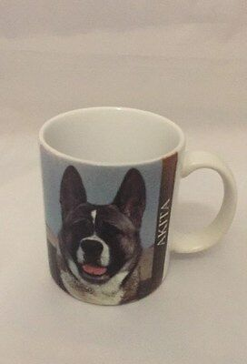 Akita Dog Coffee Mug Glass Cup