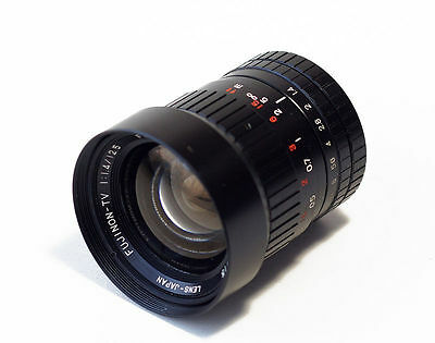New 1:1.4/12.5 Fujinon C-Mount Tv Machine Vision High Resolution Lens Cf12.5A