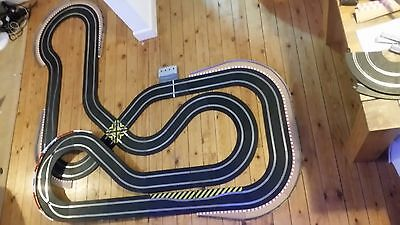 scalextric sport digital set track extended double loop sport version