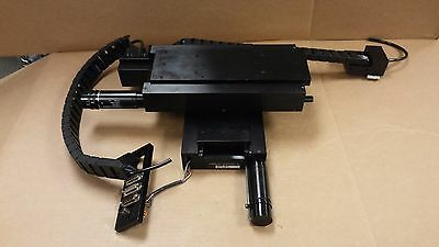 KINSINGTON Model 6000 8X8 X/Y Positioning Linear Stage with MAXON 145349 Motor