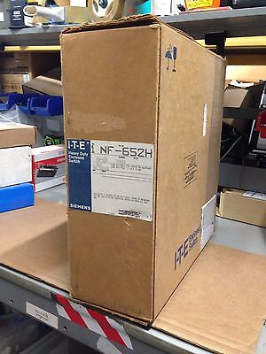 Siemens NF652H ITE Enclosed Switch Heavy Duty 3 Phase 60 Amp 600V 6 Pole NEW