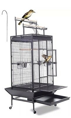 Xxl Extra Large Bird Parrot House Macaw Aviary Cage Coop Wire Mesh Breeding New